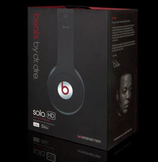 Tai Nghe Monster Solo - Beats by Dr. Dre Solo ( black )